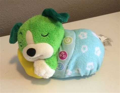 leap frog green twinkle  scout puppy dog light