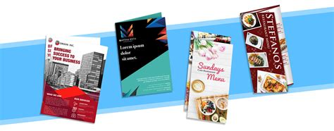 3 Types Of Brochure Suitable For Your Business Needs