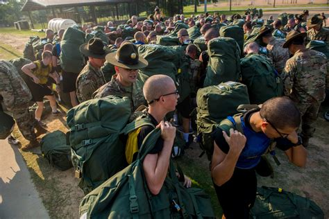 army clears  recruits  basic training