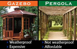Gazebo or Pergola - How They Differ and Which is Better?