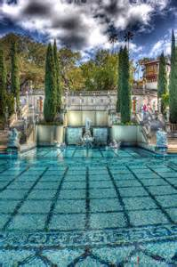 California Hearst Castle Pool