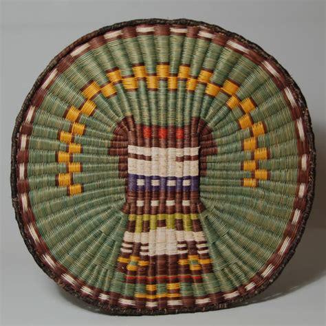 hopi  mesa wicker angakchinmana katsina image plaque