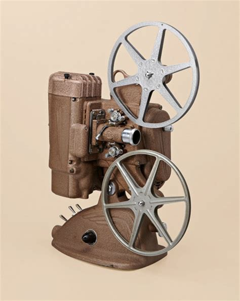 Brown Film Reel Movie Projector Traditional Home Electronics By Oh Hello Friend
