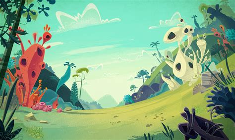 Cartoon Backgrounds On Behance