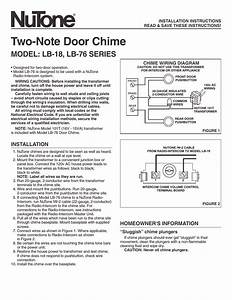 Nutone 3003 Wiring Diagram