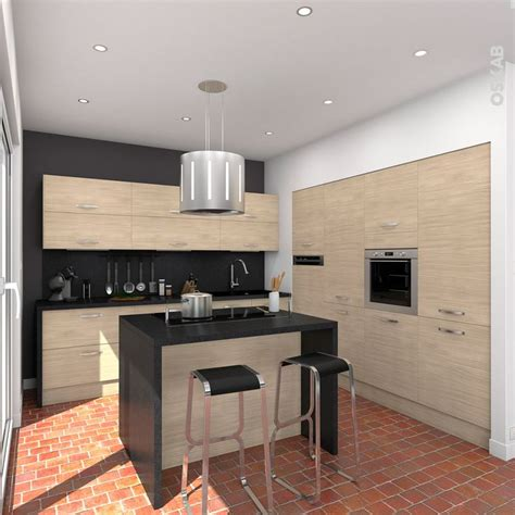 cuisine en bois clair structur 233 stilo noyer blanchi cuisine et collations