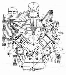V Six Cylinder Car Engine Cutaway Pictures