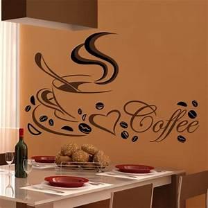 Wandsticker kuche gunstige wandsticker online kaufen for Wandtattoo küche kaffee