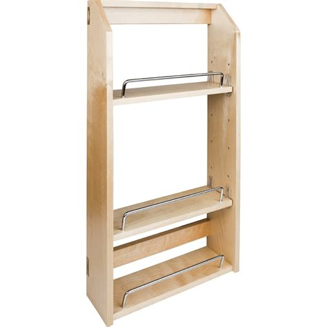 wall mount kitchen cabinets door mounted spice rack for wall cabinet with chrome 6942