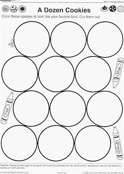 Cookie Worksheets Christmas Worksheet Cookies Preschool Math