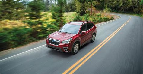 auto review  subaru forester los angeles sentinel