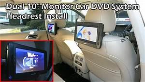 Nissan Headrest Monitor Wiring Harnes
