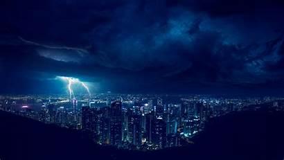 4k Lightning Night Storm Wallpapers Laptop Desktop