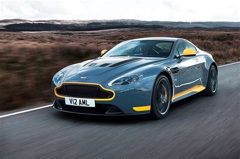 Aston Martin V12 Vantage S Manual First Drive, Car+ June