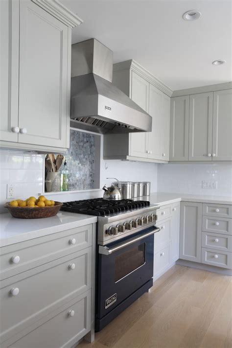 cooktop niche contemporary kitchen benjamin moore