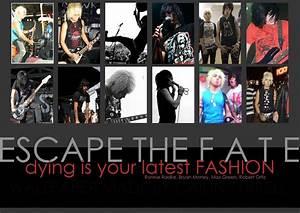 Escape The Fate Wallpaper by Houndoom2005 on DeviantArt