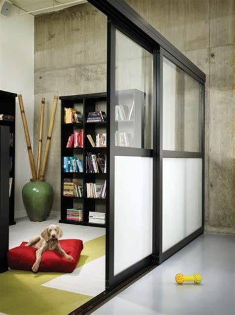 Sliding doors as room dividers ? more privacy in the small