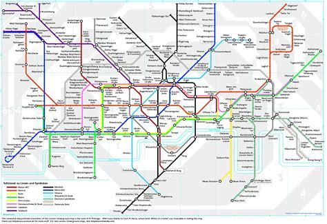 london underground map  german jackos weblog