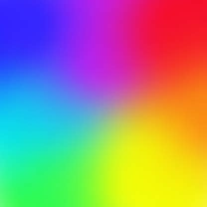 Rainbow Color Gradient Mesh Background Trendy Style Vector ...