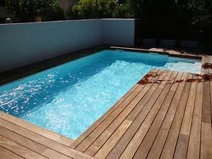 Piscine Semi Enterrée Coque : piscine coque polyester piscine semi enterr e en kit ~ Melissatoandfro.com Idées de Décoration