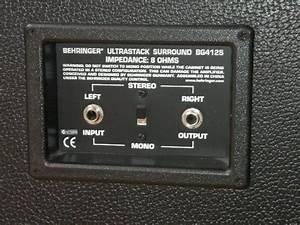 Behringer Ultrastack Bg412s Image   234085