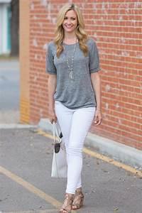 White Shirt White Jeans | Bbg Clothing
