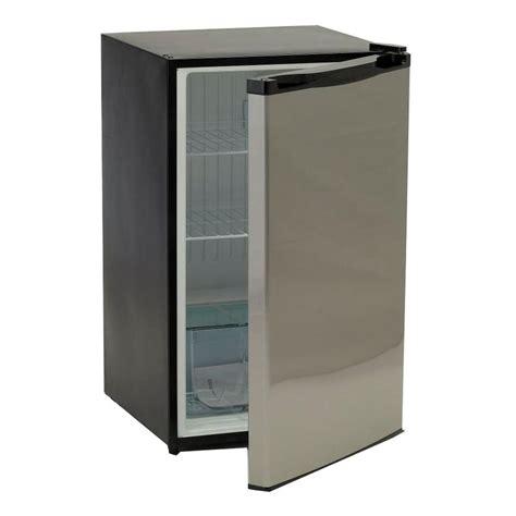 walmart kitchen island bull 4 5 cu ft mini refrigerator in stainless steel
