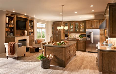 honey cabinets kitchen mission oak eclectic other metro by shenandoah 1691