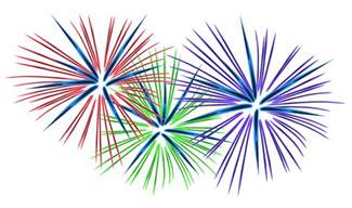 Fireworks Animated Clip Art for PowerPoint