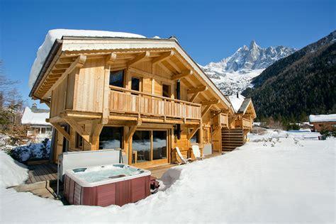 luxury chamonix ski chalet flegere excellent food tub log