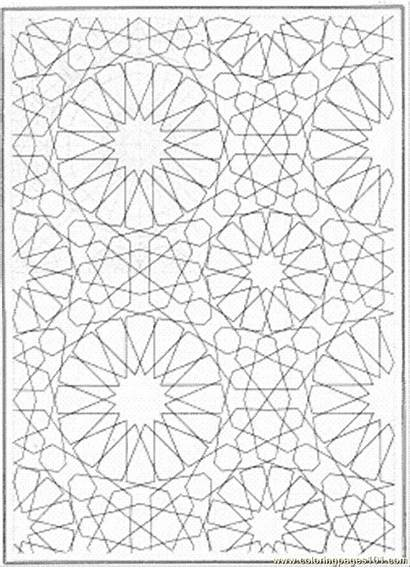 Coloring Pages Lines Pattern Printable Connecting Patterns