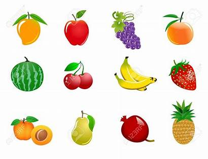 Clipart Fruit Fall Different Fruits Clipground Cliparts