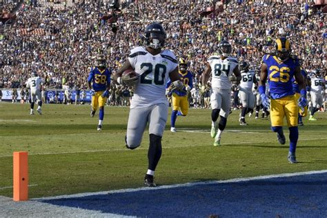 seattle seahawks run game  committee  good problem