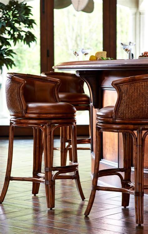 bali bar stool blends transitional  tropical