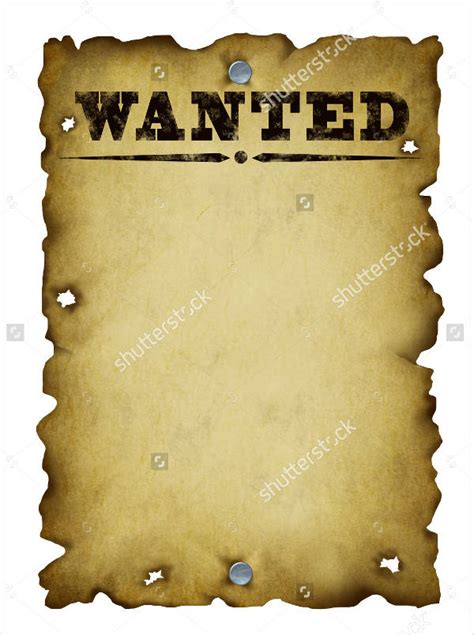 downloadable wanted posters