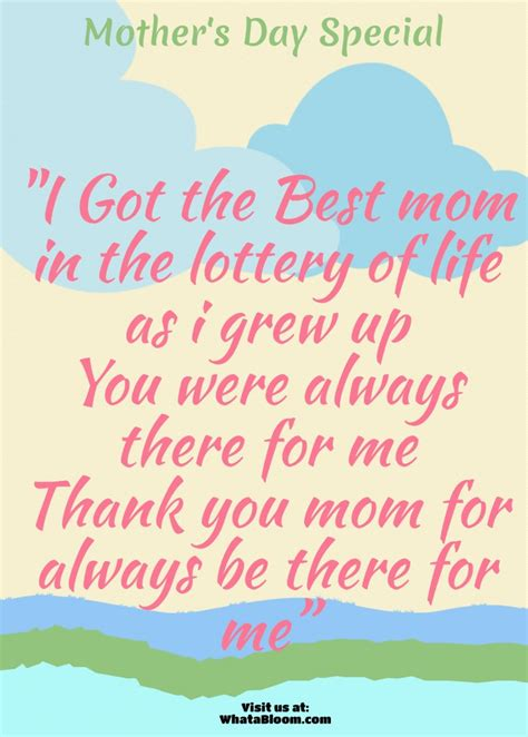 Mothers Day Quotes by Best S Day Quote Visual Ly