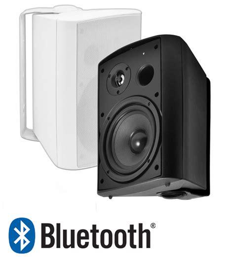 btp 650 wireless bluetooth patio speaker pair