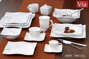 Tafelservice Modernes Design : geschirr serie scala via by ritzenhoff breker ~ Michelbontemps.com Haus und Dekorationen