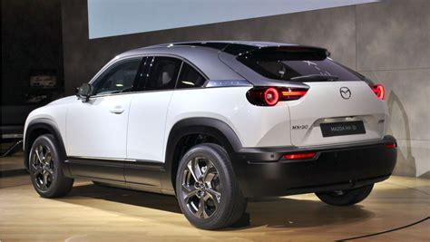 Mazda MX-30: Brand's First Electric Car Revealed ...
