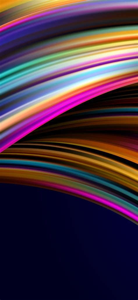 asus zenbook pro duo  wallpaper spectrum waves