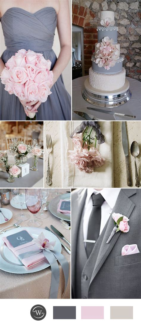 wedding decor ideas and colours wedding colors trends for 2017 spring pink yarrow color combos stylish wedd blog