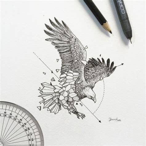 tatouage géométrique homme les animaux g 195 169 om 195 169 triques de kerby rosanes dessin crayon tatouage animaux geometrique et