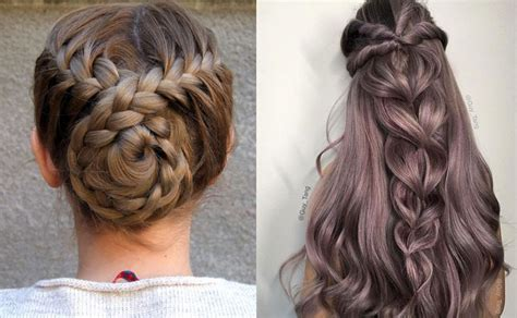 quick  easy braided hairstyles  braids inspiration