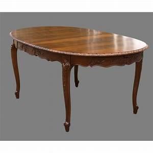 Table En Noyer : table normande ovale rose en noyer meubles de normandie ~ Teatrodelosmanantiales.com Idées de Décoration