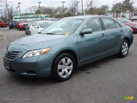 2009 Toyota Camry Le by Aloe Green Metallic 2009 Toyota Camry Le Exterior Photo
