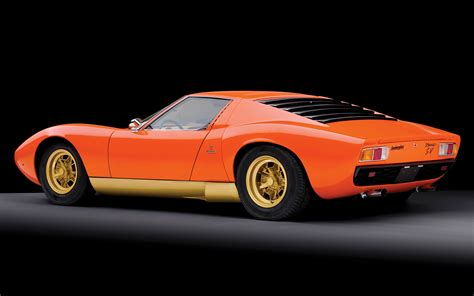 lamborghini miura sv wallpapers  hd images car