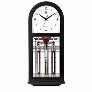 Frank Lloyd Wright Harley Bradley Wall Clock C4836