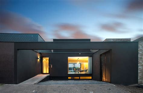 open loft house plans three floor house design disguised as a single storey