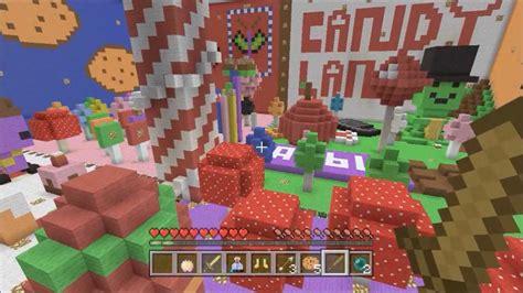 minecraft hunger games xbox  candy land battle