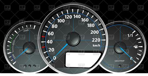 Speedometer, Rpm And Fuel Level